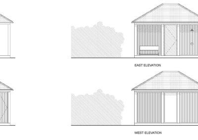 Sauna Elevations